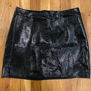 Guess Patent Leather Skirt